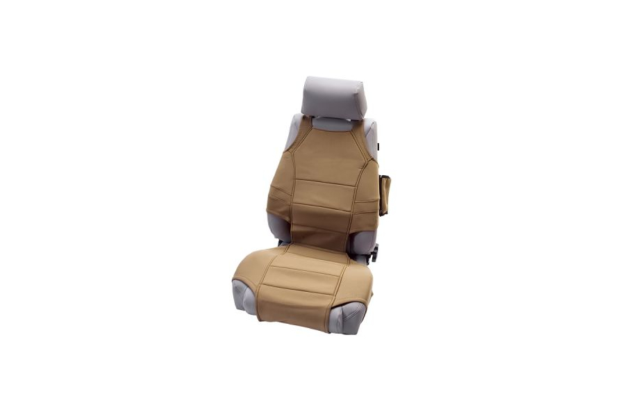 Rugged Ridge Front Seat Vests Tan (Part Number:13235.21)