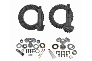 Yukon Complete D44 Rear / D30 Front Ring and Pinion Kit - 4.56  - JL Non-Rubicon