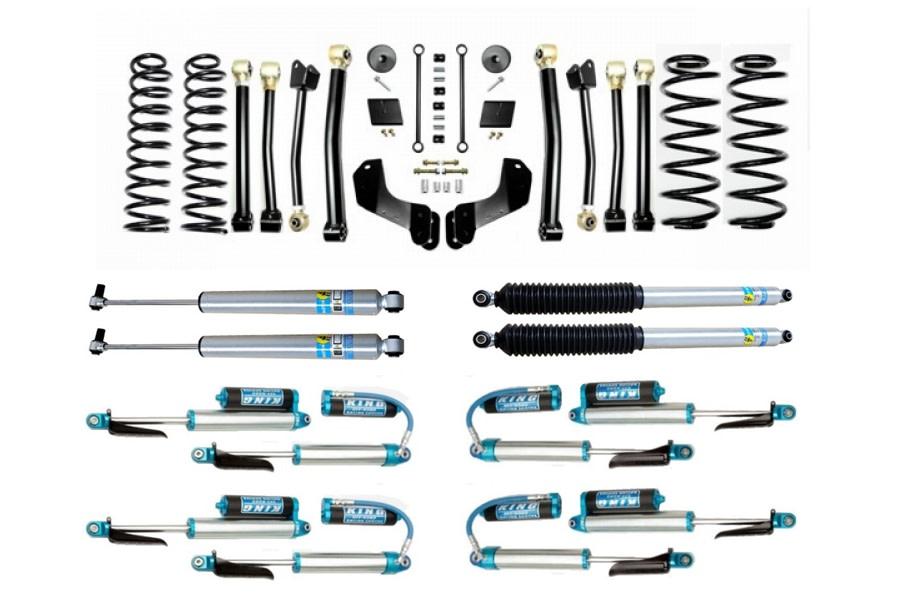 Evo Manufacturing 2.5in Enforcer Overland Stage 4 Lift Kit w/ Shock Options - JL Diesel