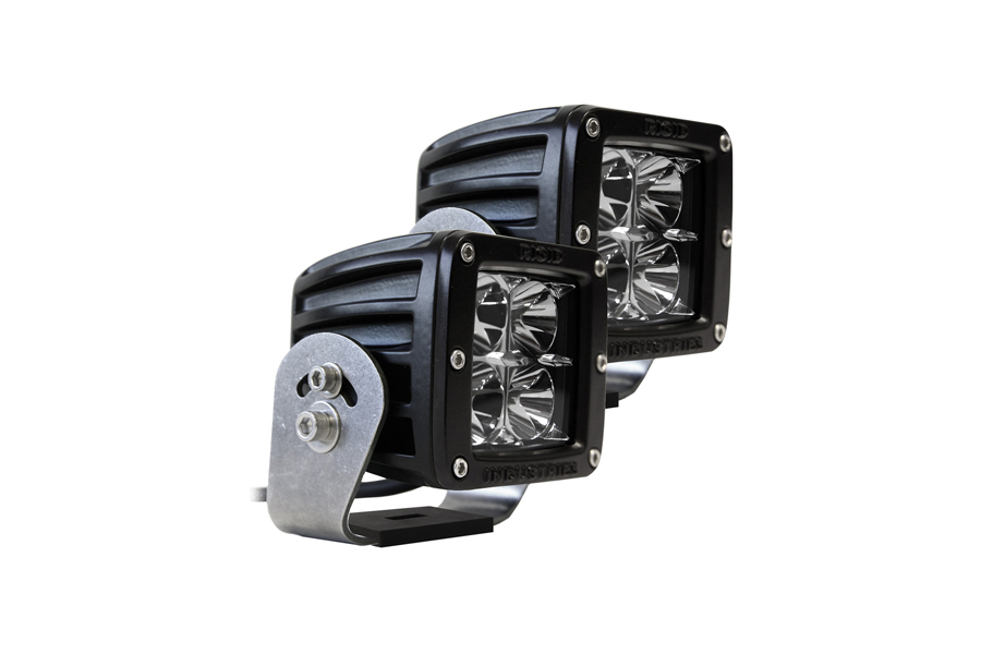 Rigid Industries Dually HD D-Series Flood Light Pair (Part Number:222113)