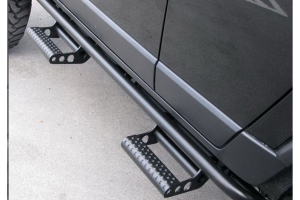 NFab RKR Step Systems, Textured Black  - JL 2dr
