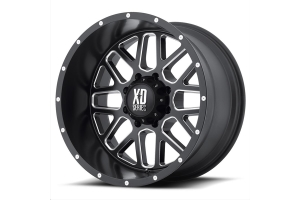 XD Series XD820 Grenade Non-Beadlock Wheel Satin Black, 17x9 5x5 (Part Number: )