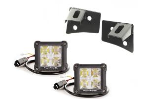 Rugged Ridge Windshield Bracket LED Kit - JK