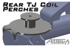 Artec Industries 3in Coil Spring Perches for Modular Rear Truss (Part Number: )