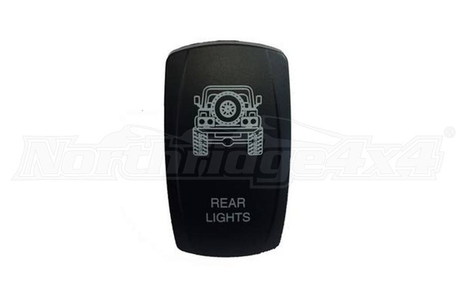 sPOD TJ Rear Lights Rocker Switch Cover