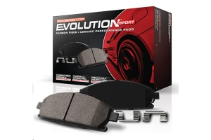 Power Stop Z23 Evolution Sport Ceramic Pads, Rear - TJ/LJ/KJ 2003-07