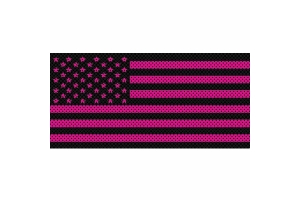 Under The Sun Inserts OldGlory Pink Grill Insert - JL