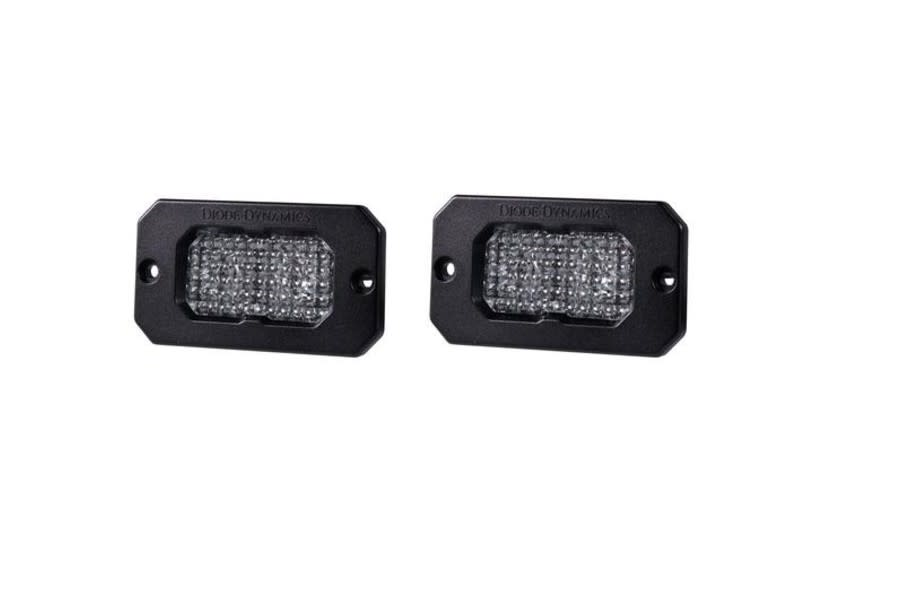 Diode Dynamics SS2 Pro Flush Mount LED Flood, ABL- Pair