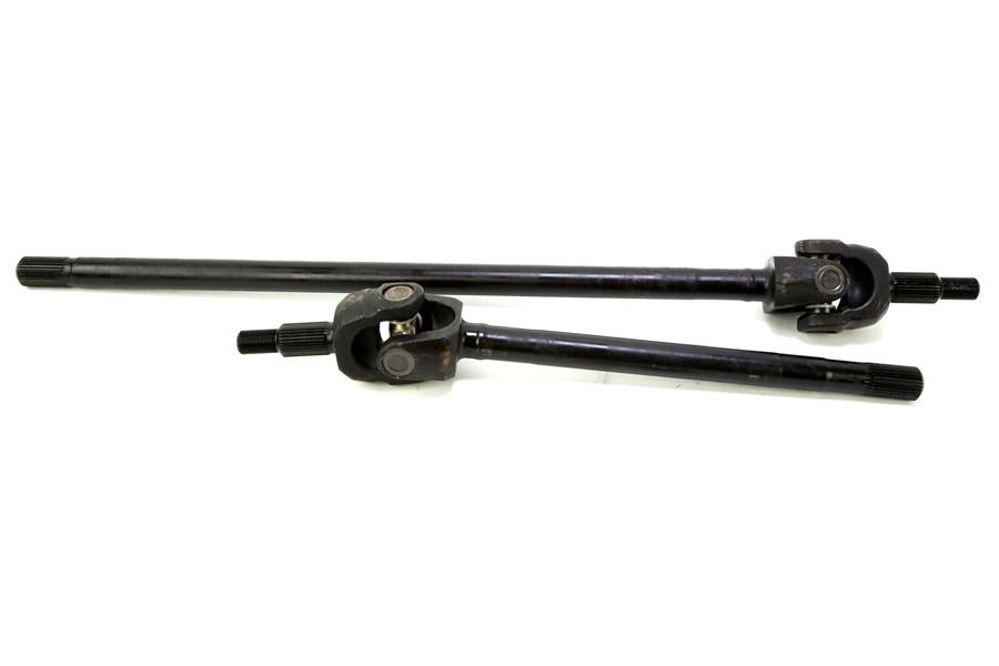 Ten Factory Dana 44 Axle Shaft Front for Eaton Lockers - JK