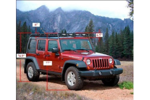 GOBI Stealth Roof Rack ( Part Number: GJJK4STL)
