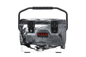 Roam Rugged Cooler 20qt - White-Black Marble