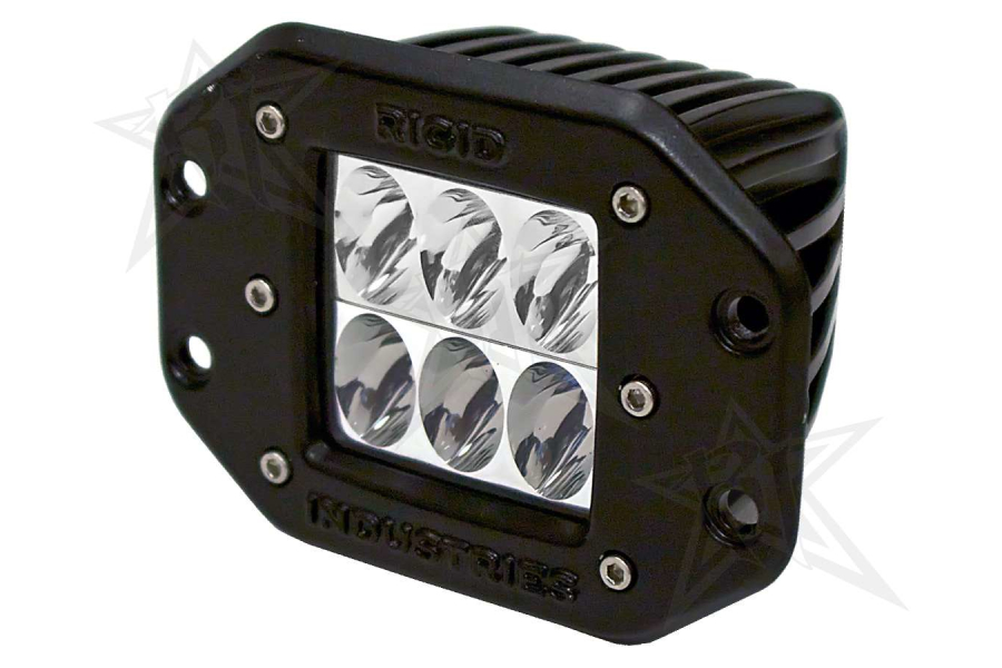 Rigid Industries Dually D2 LED Lights Flush Mount Driving White (Part Number:511313)