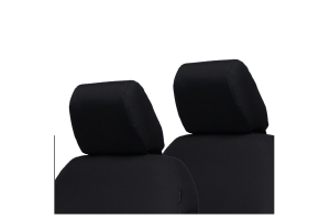 Bartact Front Headrest Covers Pair, Black - JL