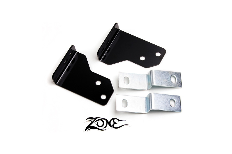Zone Offroad 2in Rear Bumper Brackets (Part Number:J9211)