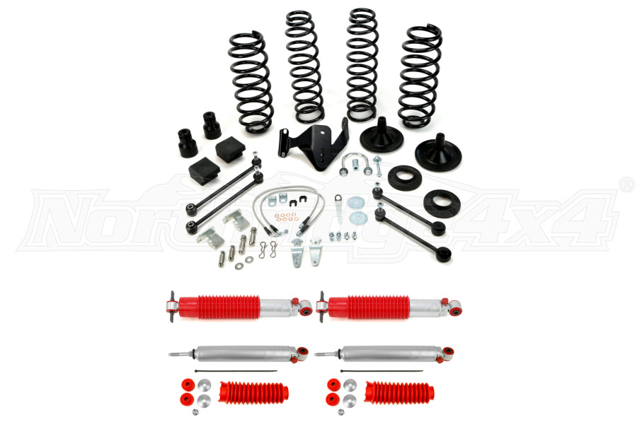 Teraflex Suspension 3in Basic Lift Kit w/Rancho Shocks - JK