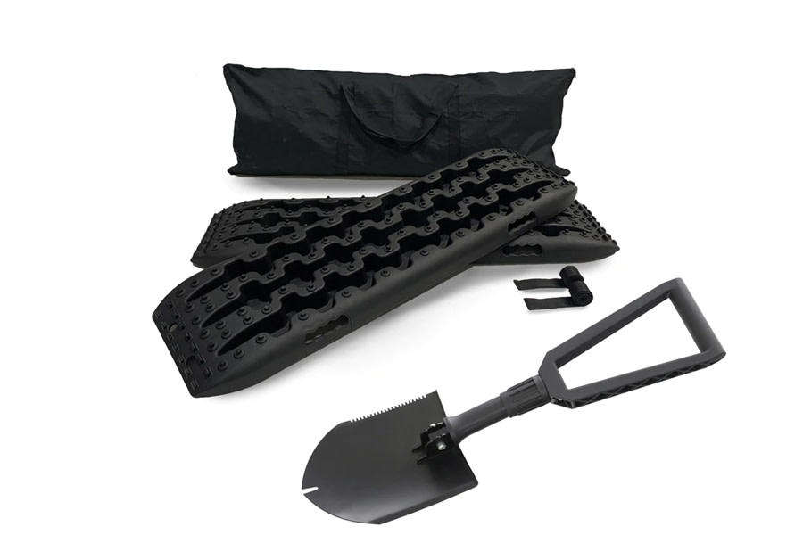 Overland Vehicle Systems Recovery Ramp and Utility Shovel Kit