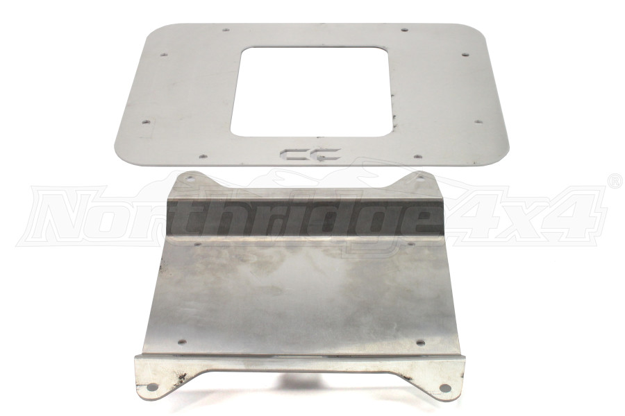 Crawler Conceptz Vent Cover w/License Plate Mount (Part Number:US-VT-07-11)