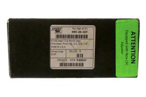 Fox 2.0 Performance Series Adjustable External Reservoir Shock Front 0-2in Lift - LJ/TJ