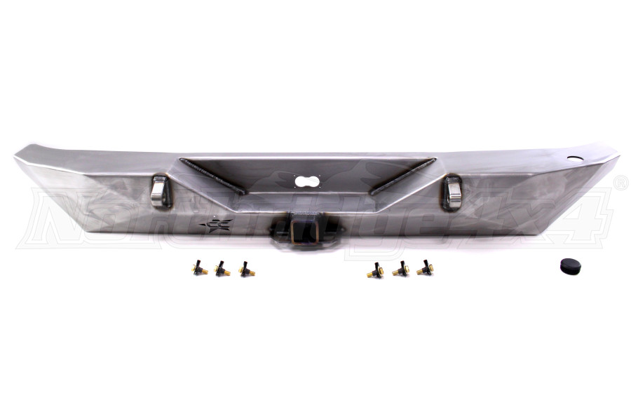 Crawler Conceptz Ultra Series Rear Bumper w/Tabs Bare (Part Number:US-RB-102)