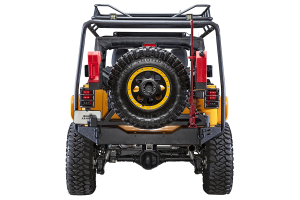 Body Armor Swing Arm Tire Carrier, Bumper JK-2395 NOT INCLUDED - JK