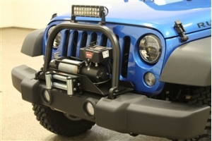 Rock Hard 4x4 Tall Grille Guard and Light Mount Hoop  (Part Number: )