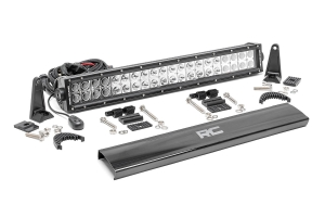 Rough Country 20in Chrome Series Dual Row Light Bar (Part Number: )