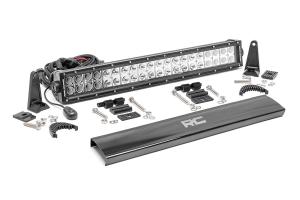 Rough Country 20in Chrome Series Dual Row Light Bar