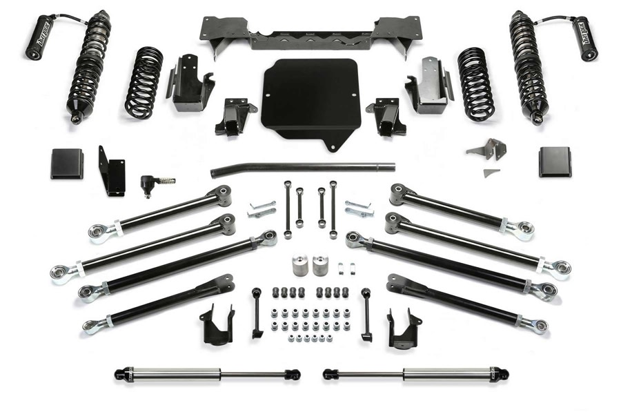 FabTech 3in Crawler Lift Kit w/ Front Coilovers and Rear Shocks - JT