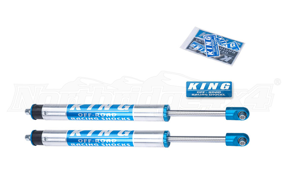 King Shocks 2.5 Performance Series Rear Shocks w/Piggyback Reservoir 6in Lift (Part Number:25001-287)
