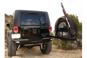 M.O.R.E. Rock Proof Rear Bumper w/Tire Carrier (Part Number: )
