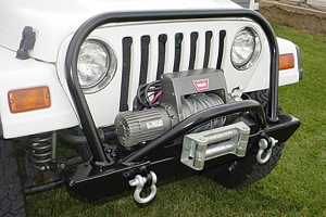 Rock Hard 4x4 Front Bumper Hood Hoop (Part Number: )