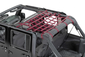Dirty Dog 4x4 Rear Seat Netting Maroon (Part Number: )