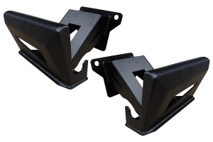 LOD Destroyer Bed Sliders, Pair - Bare Steel - JT
