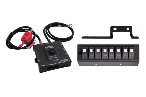 sPOD Bantam w/8 Switch Panel System Red (Part Number: )