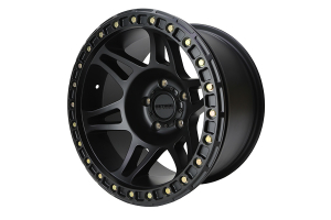 Method Racing Wheel MR106 Beadlock Matte Black 17X9 5X5 - JT/JL/JK