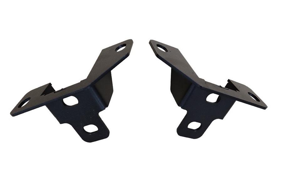 LOD Rear Bumper Frame Tie-In Brackets, Pair - Black - JT