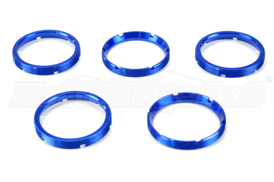 KC HiLiTES Flex Series Bezels Blue 5 Pack (Part Number:30563)