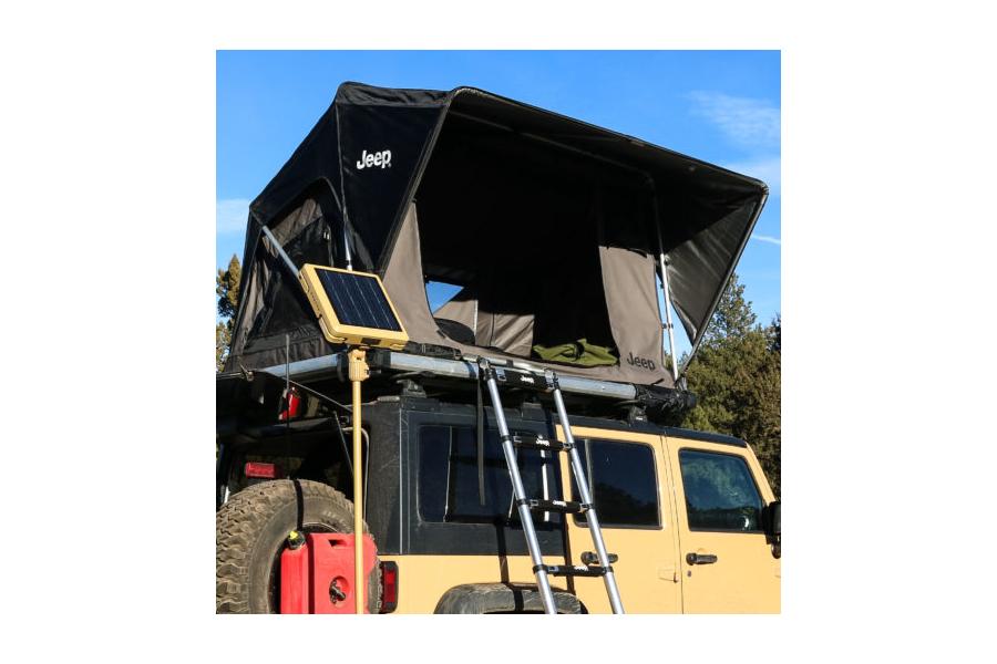 Freespirit Recreation Adventure Series Manual 55in Roof Top Tent, Grey/Black/Grey (Part Number:RTAM55302)