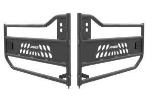 Aries Aluminum Front Tubular Door, Black - JK
