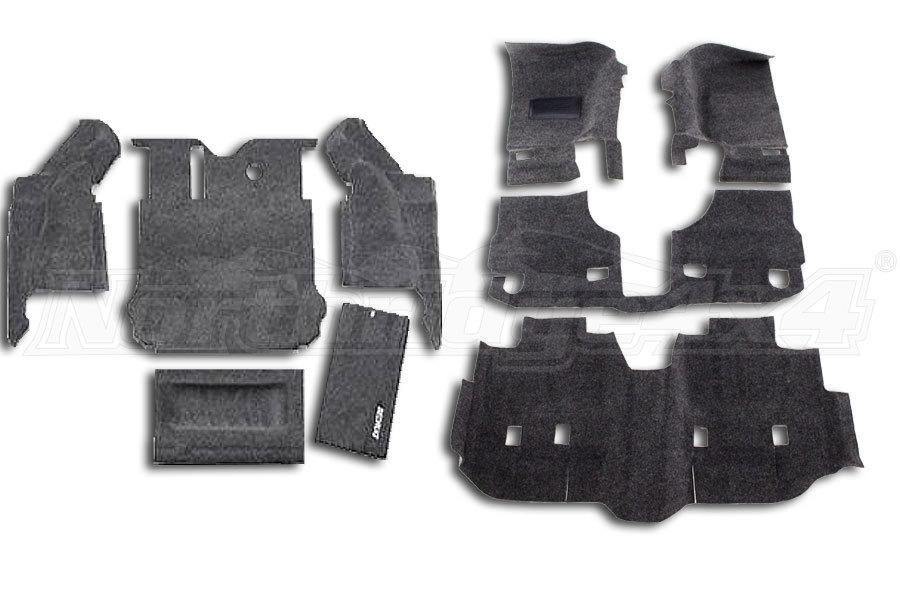 BEDRUG Complete Package JK 4DR 2007-10  (Part Number:RUG-COMPLETE-PACKAGE-07-10)