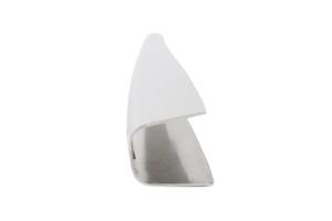 Kentrol Rear Wiper Arm Overlay - Polished Silver  - JK