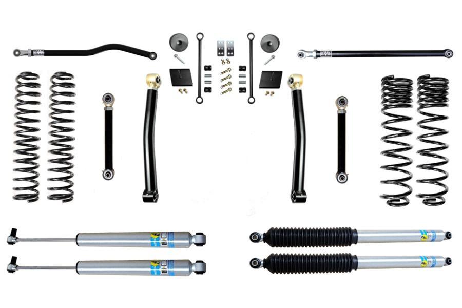 Evo Manufacturing 2.5in Enforcer Stage 3 PLUS Lift Kit w/ Bilstein Shocks - JT