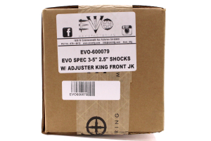EVO Manufacturing Spec Driver/Passenger Set Shock Front 3-5in Lift   (Part Number: )