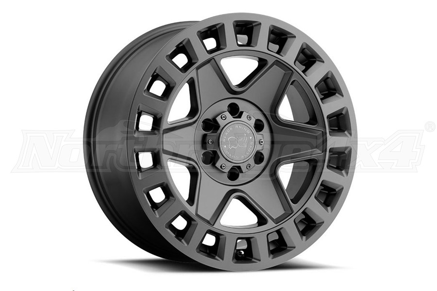Black Rhino York Wheel 17x9 5x5 Matte Gunmetal (Part Number:1790YRK-25127G71)