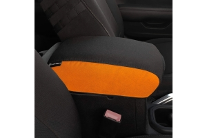 Bartact Padded Center Console Cover - Black/Orange - JT