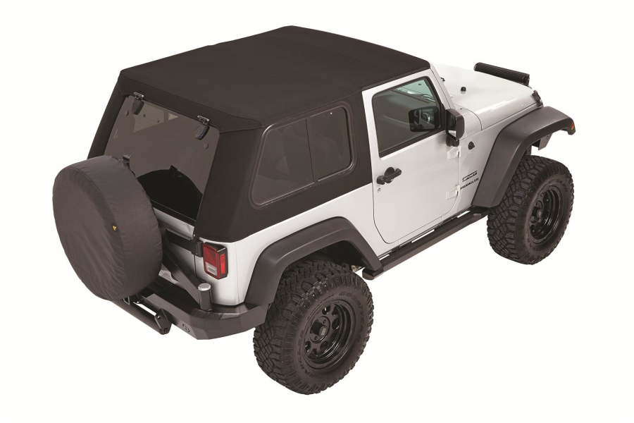 Bestop Trektop Pro Soft Top With Removeable Glass Windows (Part  Number:54852 17