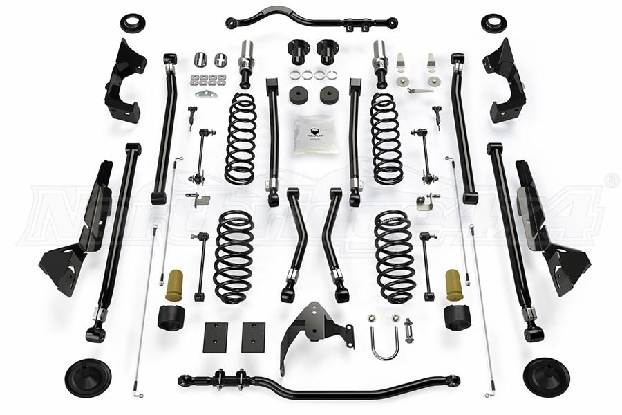 Teraflex Alpine RT4 4in Long Arm Lift Kit - JK 4dr