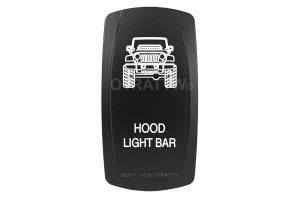 sPOD Hood Light Bar Rocker Switch Cover