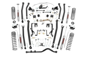 Rough Country 4in Long Arm Lift Kit  - JK 2012+ 4Dr 3.6L