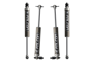 Teraflex Falcon Series 2.1 Monotube Shock Absorber Kit Front & Rear 2.5-3.5in Lift  (Part Number: )